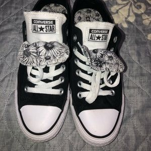 Converse all star size 7 double tongue *worn once*
